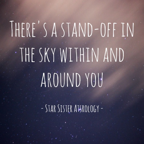 A stand-off in the sky within and around you