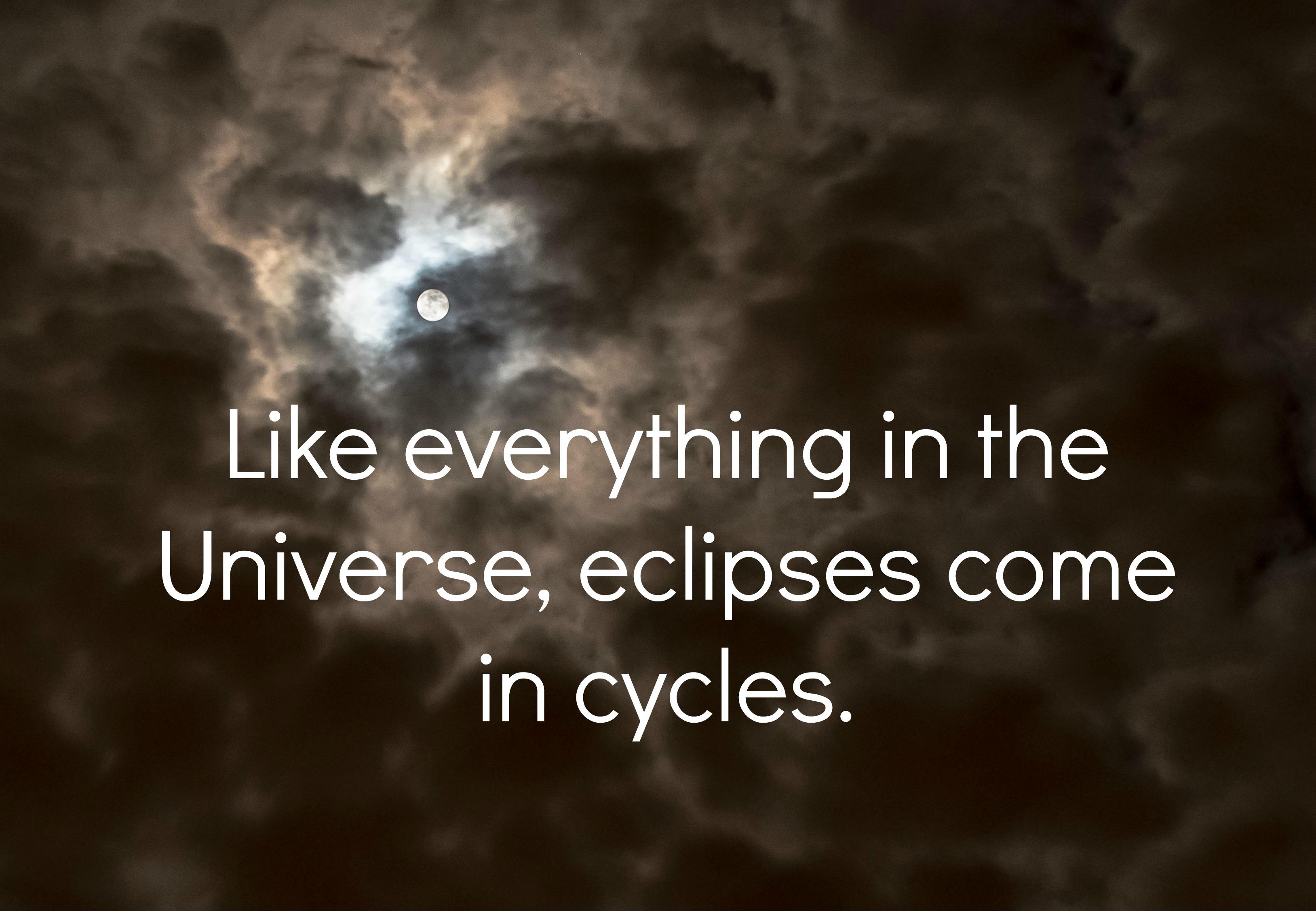 Leo Lunar Eclipse universe